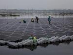 چین بزرگ ترین نیروگاه برق خورشیدی شناور جهان را راه اندازی کرد