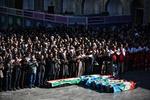 اشترانکو میں برف کے تودے تلے دب کر جاں بحق ہونے والے کوہ پیماؤں کی تشییع جنازہ