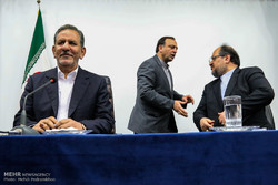 VP Jahangiri urges FM to draft Iran-China ties expansion plan