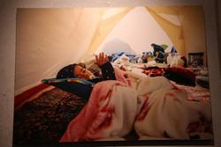 نمایشگاه عکس زلزله کرمانشاه