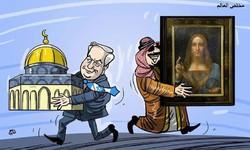 """بن سلمان يبيع القدس ويحتكر """"مخلص العالم"""""""