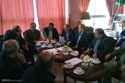 نشست مسئولان راه آهن های ایران و جمهوری آذربایجان در آستارا