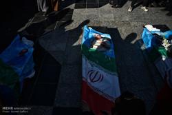 تشییع کوهنوردان جان باخته در بهمن اشترانکوه