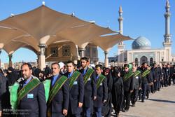 حضرت معصومہ سلام اللہ علیھا کے قم میں ورود کی مناسبت سے علامتی تقریب