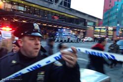 نیویارک میں بم دھماکہ