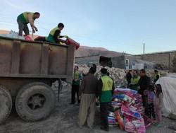 نهمین محموله کمک های مردمی به مناطق زلزله زده ارسال شد