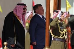 پادشاه اردن عربستان