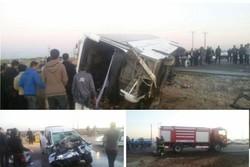 تصادف اتوبوس دانشآموزی راهیان نور در سوسنگرد