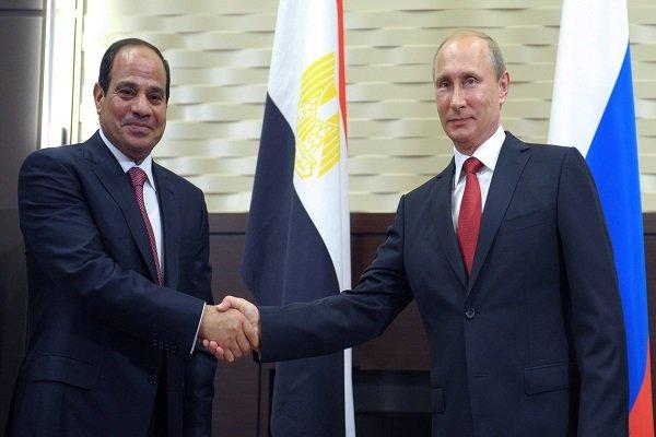 گفتگوی تلفنی سران روسیه و مصر درباره تحولات لیبی