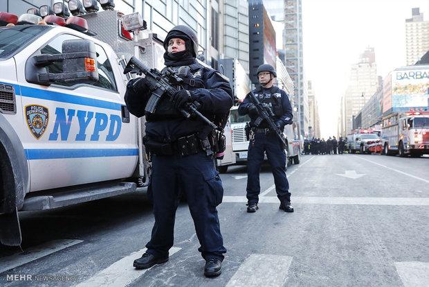 انفجار بمب در نیویورک