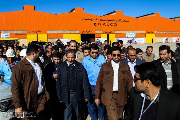 دومین روز سفر اسحاق جهانگیری به خوزستان