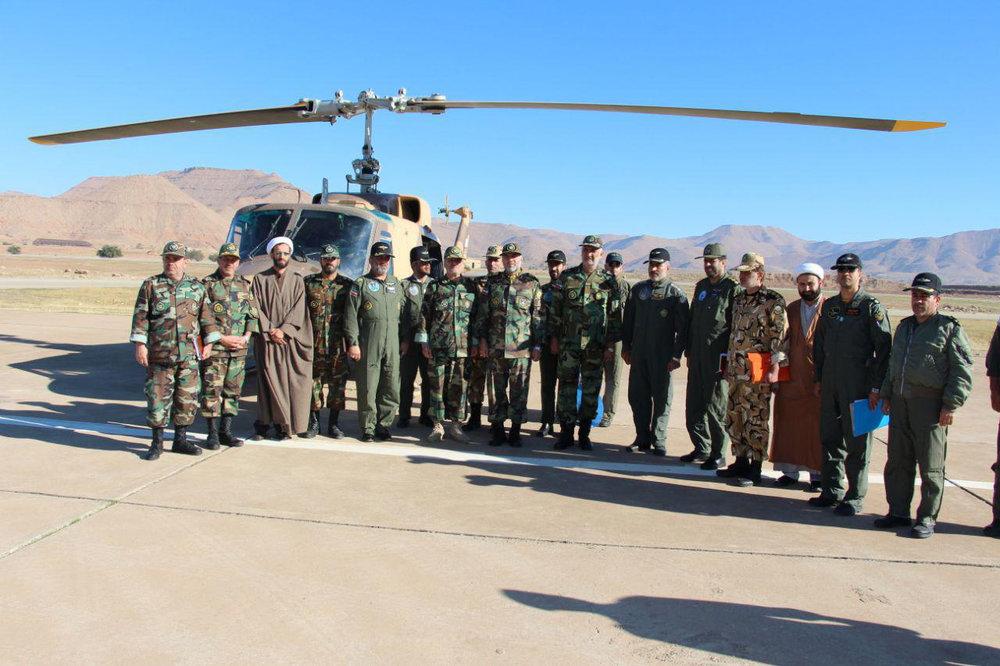 بازآماد و بازسازی ۳ فروند بالگرد ۲۱۴ هوانیروز ارتش
