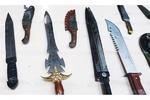 ساطور و چاقوی ضامندار از فهرست ادوات درگیری فیزیکی حذف شد