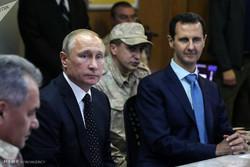 سفر اعلام نشده پوتین به سوریه