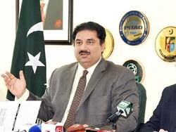 خرم دستگیر وزیر دفاع پاکستان