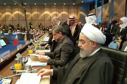 روحاني يؤكد استعداد إيران للتعاون مع جميع الدول الاسلامية للدفاع عن القدس