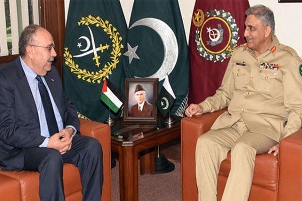 رئيس اركان الجيش الباكستاني: سنستمر في دعم القضية الفلسطينية