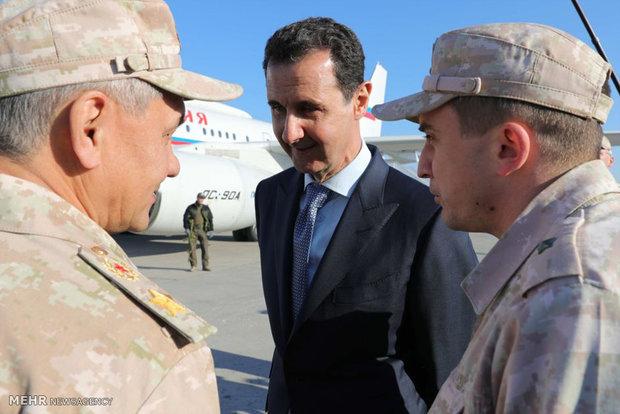 Putin'in Suriye ziyaretinden kareler