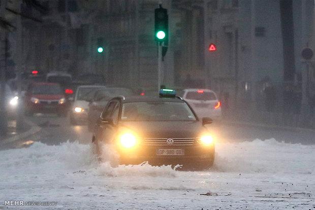 طوفان آنا در اروپا