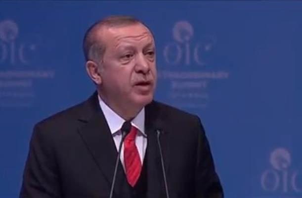 اردوغان : إسرائيل دولة محتلة إرهابية بدعم امريكي