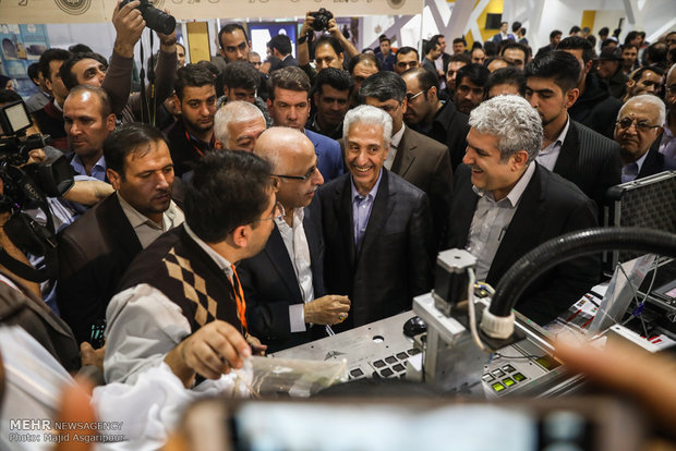 Opening of 18th Research, Tech. Expo in Tehran