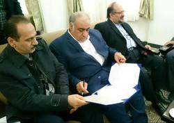 سفر وزیر صنعت و امضای تفاهم نامه همکاری در استان کرمانشاه