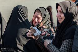 تشییع پیکر دانش آموزان حادثه واژگونی اتوبوس در سوسنگرد خوزستان