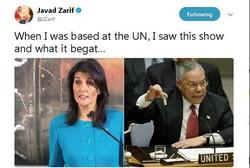 Zarif'ten ABD'ye füze tepkisi
