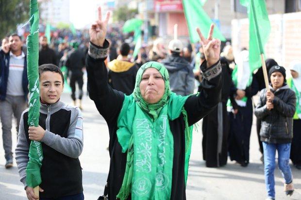 غزة تحتفل بالذكرى الثلاثين لانطلاقة حركة حماس