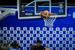 دیدار تیمهای بسکتبال مهرام تهران و یس آل گرگان