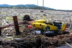 سقوط بالگرد در کانادا