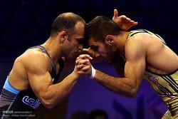 إيران تحتل المركز الأول في بطولة العالم للمصارعة الرومانية للقوات المسلحة