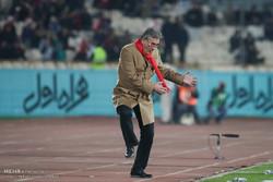 دیدار تیم های پرسپولیس تهران و بادران تهران