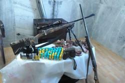 ۱۴ قبضه سلاح غیرمجاز شکار در اردبیل کشف شد