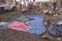 ارتفاع حصيلة ضحايا غارات العدوان الامريكي السعودي إلى 50 بين شهيد وجريح في اليمن
