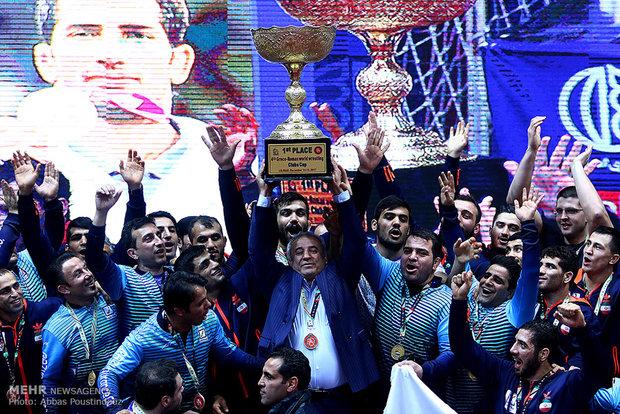 İran Dünya Grekoromen Şampiyonu oldu