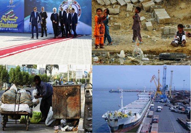 China calls for linking Chabahar, Gwadar ports