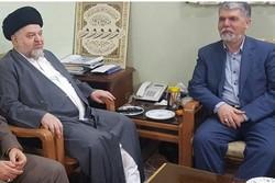 دیدار وزیر فرهنگ و ارشاد اسلامی با نماینده آیت الله سیستانی