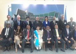 کاوه مدنی در اجلاس آسیا و اقیانوسیه