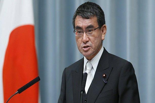 Japan will not toe US line on Iran: FM Kono