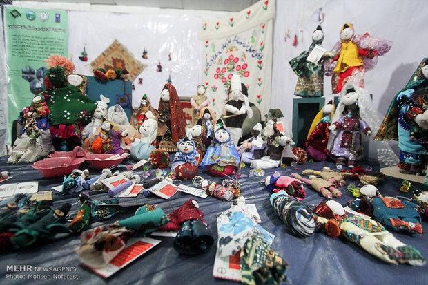 İran'ın Yöresel El Sanatları Fuarı'ndan kareler