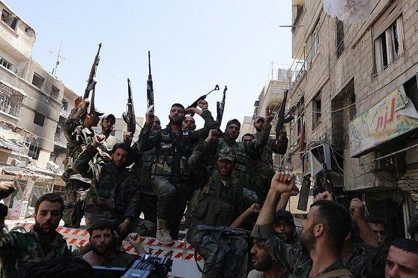 درگیری شدید تروریستها در ادلب و محاصره دهها تروریست فرانسوی,