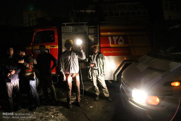 ۵ نفر بر اثر انفجار گاز در اهواز مصدوم شدند