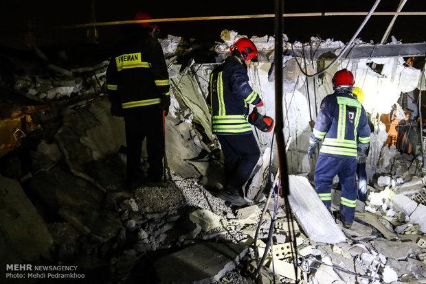 انفجار گاز سبب آسیب به یک واحد مسکونی در نوشهر شد