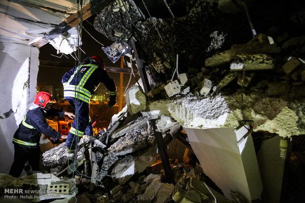 انفجار گاز در کوی نبوت شهر اهواز
