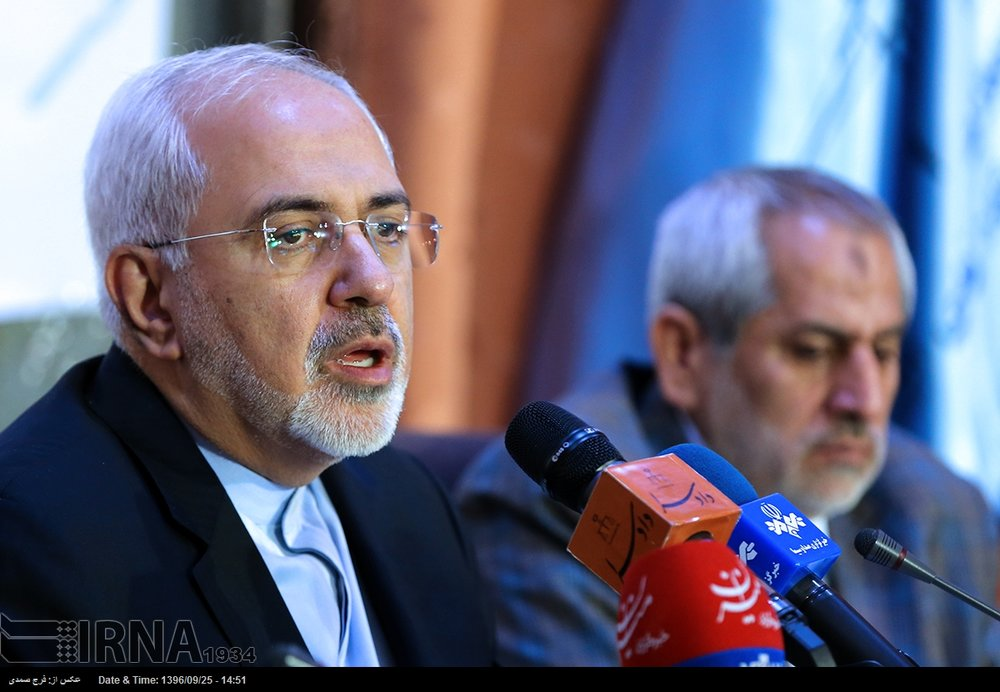 Certain countries catch cold when Trump sneezes: Zarif