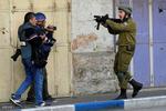 Siyonistlerden Filistinli göstericilere yoğun baskı