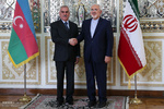 ایرانی وزیر خارجہ کی نخجوان کی پارلیمنٹ کے سربراہ سے ملاقات