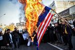احتشاد طلابي في مدينة مشهد الايرانية تنديداً بقرار ترامب / صور