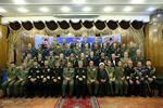 """لقاء الملحقين العسكريين في طهران و الاميرال """"حسين خانزادي"""" /صور"""